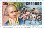 Captain James Cook and Hawaian