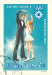 Ice dancing. Winter Olympics, Serajevo.