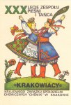 30th anniversary Cracovia song and dance ensemble