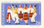 Folk dance from Dobruja, Inter-European Cultural and Economic Cooperation.