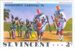 Humpty-Dumpty and other costumed dancers, Kingstown Carnival