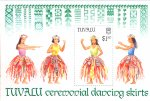Four grass skirt dances